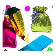 100 Bolsas Celofán P Dulces Recuerditos Fiesta Evento Color
