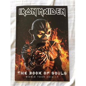 Iron Maiden- Tour Programme- Tour Book- The Book Of Souls 17
