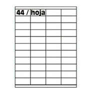 Etiquetas Oritec A4 4126 X100 44 X Hoja Ideal Full 52,5x25.4