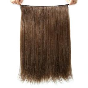 Yavida Hair 100% Human Hair Invisible Wire Halo Hair Extensi