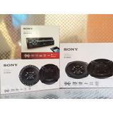 Auto Estéreo Sony Méx-n5200bt Con Bocinas 6.5 Y 6x9 Pulgadas