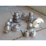 Poleas De Aluminio 2 Hasta 16 Pulgadas Para Molinos Y Motore