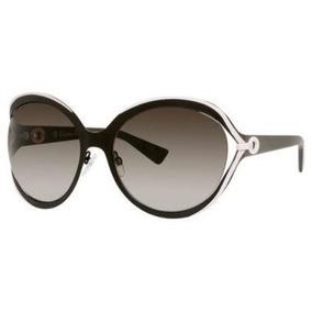 Dior 6ms Marrón Y Rosa Elle1 Mariposa Gafas De Sol Lente Ca