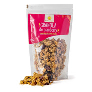 Granola Artesanal De Cranberry - 200g - Made In Natural