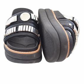 Sandalia Sandalias Mujer Plataforma Zapatos Simil Zapatillas