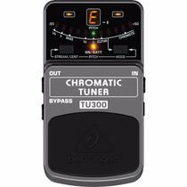 Pedal Para Guitarra Afinador Chromatic Tuner Behringer Tu300