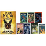 Harry Potter Coleccion Saga Oficial + 8vo Libro! Pack X 8