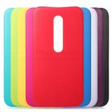 Tapa Trasera Carcasa Colores P/ Motorola Moto G G3 Terc Gen