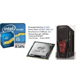 Cpu Core I5 3470 3.2 Ghz/4gb/500 Hdd