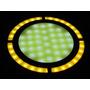 Foco Plaqueta Super Leds 12v Cob 70mm Ideal Casa Rodante