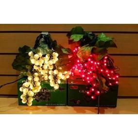 Luz Luces Navidad Uva X 144 Secuenciador 8 Funciones Caja