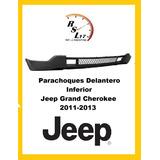 Parachoques Delantero Inferior Jeep Grand Cherokee 2011-2013
