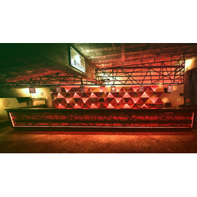 Barras Fijas Móviles Iluminadas Led Bar Antro Pub Alitas