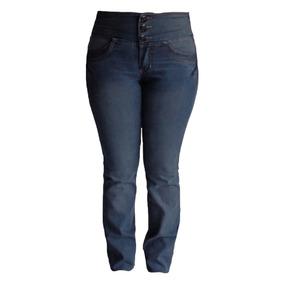 Calça Jeans Blue Black C/ Elástico No Cós Traseiro - 38 A 56