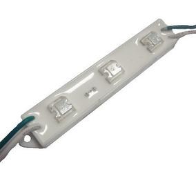 Modulo 3 Led Piraña Smd 5050 Impermeable Con Adhesivo