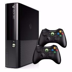 Xbox 360 + 2 Controles Originais +kinect + 4 Jogos Originais