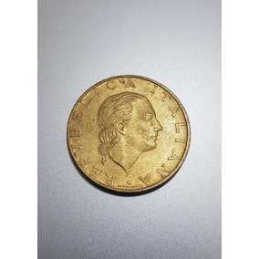 Moeda Italiana De 200 Lira De 1995