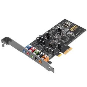 Placa De Som Pci-e Creative Sound Blaster Audigy Fx 5.1 - Sb