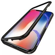 Funda Magnética De Metal Con Vidrio Apple iPhone X (remate)