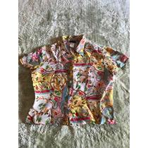 Camisa De Seda Pura Kenzo Tam Pp