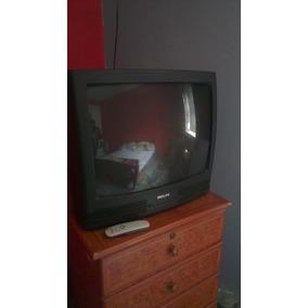 Tv Phillys De 25 Pulgadas En Buen Estad No Es Pantalla Plana