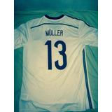 Camisa Da Alemanha 2014 Infantil Muller no Mercado Livre Brasil 13a77e9d76703