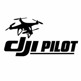 Adesivo Drone Aeromodelismo Dji Pilot Phantom Personalizamos