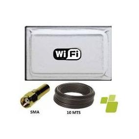 Antena Cliente 2.4ghz 17dbi Wifi Nextsoftss *somos Tienda*
