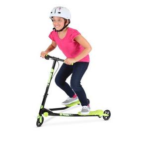 Patin Del Diablo Scooters Yvolution Yfliker A1 Air Verde