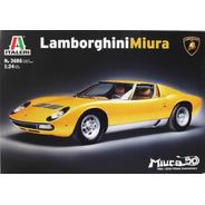 Lamborghini Miura 1/24 Kit Italeri P/ Montar Tipo Revell