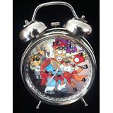 Reloj Despertador Estilo Vintage Homero Simpon Super Heroe