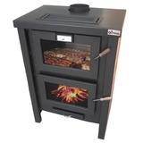 Qutral, Salamandra, Estufa, Calefactor A Leña 14000 C/horno