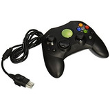 Old Skool Controlador Xbox S-type Wired Game Pad - Negro