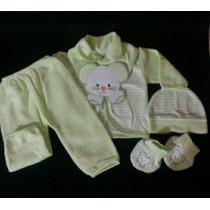 Conjunto Para Recien Nacidos En Piel De Durazno. T0-3 Meses