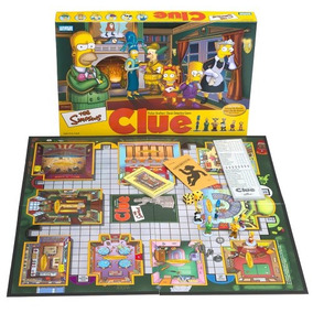 Juego De Mesa Clue Simpsons