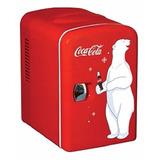 Mini Refrigerador Frigobar Coca Cola Capacidad 6 Latas