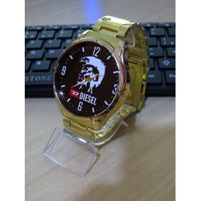f80750f695e Relogio Bvlgari Dourado Com Preto - Relógios no Mercado Livre Brasil