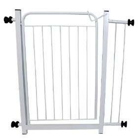 Grade De Porta E Proteção/portão Pet Cachorro E Bêbes 95cm
