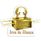 Adesivo Arca Da Aliança Igreja Universal Iurd 11,5x9cm #0437