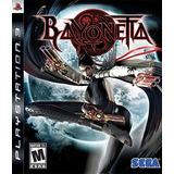 Bayoneta Ps3 | Digital Tenelo Hoy Chokobo