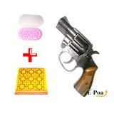 Rifle Pistola De Espoleta Arminha Rambo 100 Bbs + 1 Cartela
