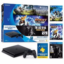 Play Station 4 Ps4 Hits Bundle - 3 Juegos - Plus 3 Meses