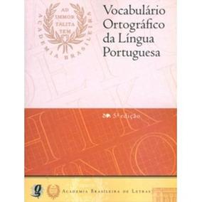 Vocabulário Ortográfico Da Língua Portuguesa - Brochura -
