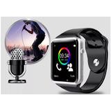 Relógio Com Chip Iphone 4 4s 5 5s 5c 6 6s 7 W9 Bluetooth