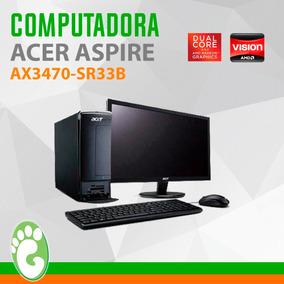 Equipo Slim Acer Aspire Amd 3200/18.5/3gb/500gb/w7