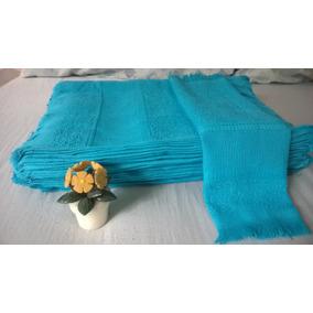 Toalhinha Azul - 10 Unid \ Lembrancinha Personalizar Atacado