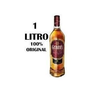 Whisky Grants 1 Litro 100% Original