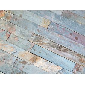 Revestimiento Piedra Natural Arg.oxidada-bronceada 60x15 5cm