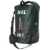 Bolsa Impermeável P/ Viagem Motociclista Moto Max Bag 40 L
