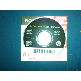 Disco De Instalacion Impresora Hp Deskjet 2510 Original